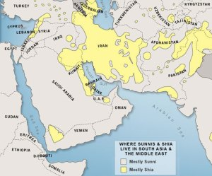 Middle East Conflict LATE EMPIRE - Middle east map conflict